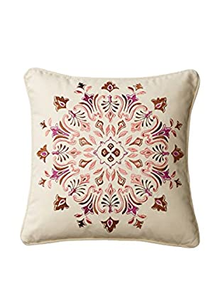 Echo Aberdeen Pillow, Ivory