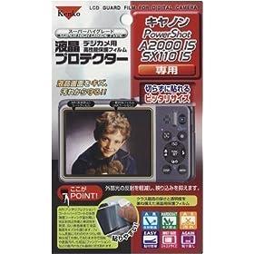 【クリックで詳細表示】Amazon|Kenko 液晶保護フィルム 液晶プロテクター Canon PowerShot A2000IS/SX110IS用 085247|カメラストア オンライン通販