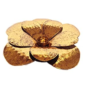 Uru Products Flower Candle Holder