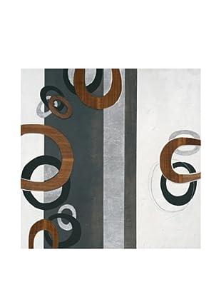 PlatinArt Cuadro Real Wood Ii 100 x 100