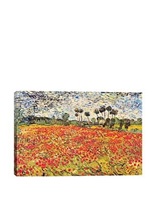 Vincent Van Gogh's Field of Poppies Giclée Canvas Print