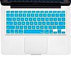 Kuzy - Aqua Blue Keyboard Silicone Cover Skin For Macbook / Macbook Pro 13