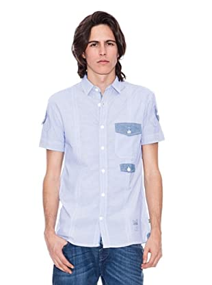 Gio Goi Camisa Striper (Azul)