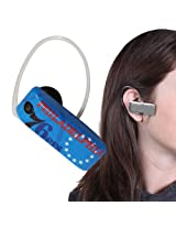 Earloomz SL-389 76Ers - Bluetooth Headset - Retail Packaging - Blue/White