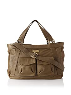 Hlaska Artifacts Women's Artifact V3 Structured Tote with Pockets (Olive)