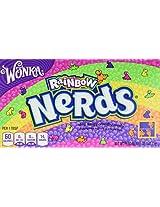 Wonka Rainbow Nerds tiny, tangy, crunchy Candy, 141.7g
