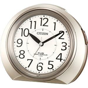 CITIZEN (シチズン) 目覚し時計 ネムリーナR05 電波時計 4RLA05-018