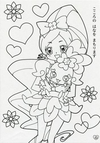画像 : プリキュア・ぬりえ無料 ... : ぬりえ 無料 印刷 : 印刷
