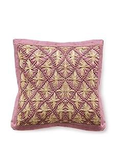 """Mar Y Sol Praia 20"""" Square Pillow (Lilac)"""