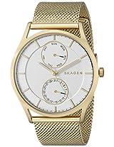 Skagen Holst Chronograph Silver Dial Men's Watch - SKW6173