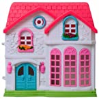 Doll House With Blue Door