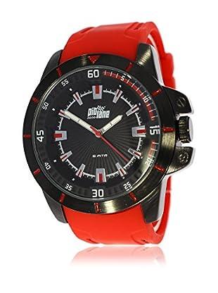 Pit Lane Uhr mit Miyota Uhrwerk Pl-2002-2 rot 45 mm