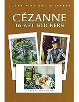 Cezanne: 16 Art Stickers (Dover Art Stickers)