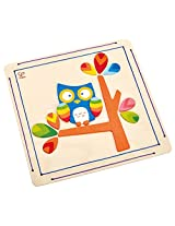 Hape - Paint it Yourself Hoot Owl Wooden Art Kit