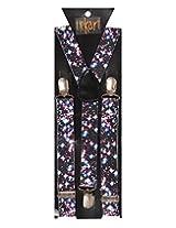Tiekart Mens Y-Back Suspender (Sus219_Multi-Coloured)