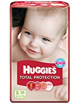 Huggies Total Protection Small Diapers (26 Count)