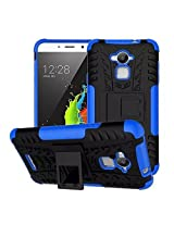 Febelo Branded Kickstand Armor Dual Protection Back Cover Case For Coolpad Note 3 - Blue Color