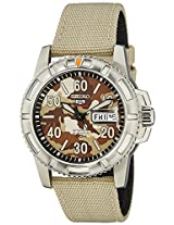 Seiko 5 Sports Analog Multi Color Dial Men's Watch - SRP221K2