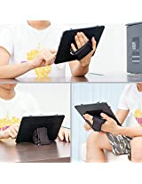 TFY Padded Hand-Strap plus Universal Case for 9-Inch to 10-Inch Tablet PC - Fits iPad, Samsung Galaxy Tab 3 10.1, Google Nexus 10 and More