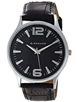 Giordano Analog Black Dial Men's Watch - P931