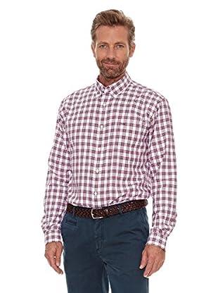 Cortefiel Camisa Blan (Rojo)