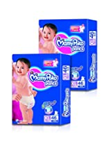 Mamy Poko Extra Large Size Diapers (2 Packs, 46 Count per Pack)