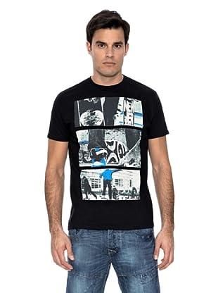 Springfield Camiseta Skate (Negro)