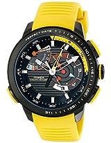 Timex Men's TW2P44500DH Intelligent Quartz Yacht Racer Analog Display Analog Quartz Yellow Watch