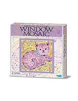 Window Mosaic Art Kitty 4 M Art / Craft Kit