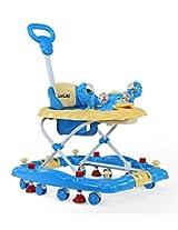 LuvLap Comfy Baby Walker (Blue)