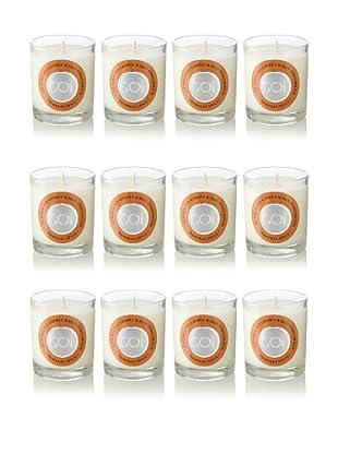 The Soi Co. Set of 12 3-Oz. Votives, Pumpkin Spice