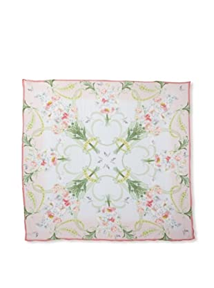Ted Baker Women's Bouquet Silk Scarf, Mint, One Size