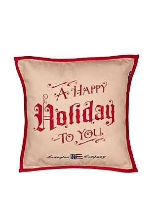 Lexington Company Funda de Cojín Holiday (Beige)
