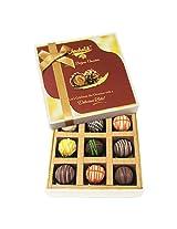 9pc Heavenly Treat Of Truffles - Chocholik Belgium Chocolates