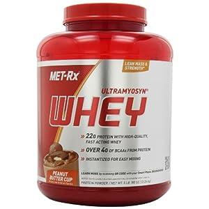 MET-Rx Ultramyosyn Whey - 5 lbs (Peanut Butter Cup)