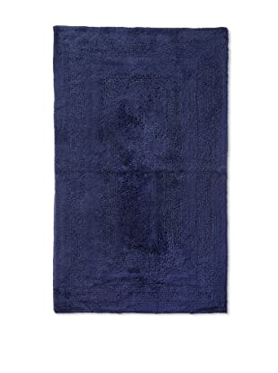 Terrisol Reversible Cotton Bath Rug (Ink)