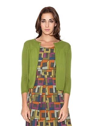 SIYU Chaqueta Knit Lisos (verde pistacho)