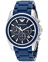 Emporio Armani Analog Blue Dial Men's Watch - AR6068