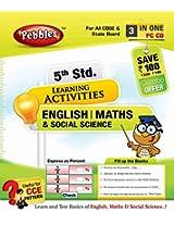 5th Std English, Maths & Social Science