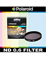Polaroid Optics ND 0.6 Neutral Density Filter For The Nikon D40 D40x D50 D60 D70 D80 D90 D100 D200 D300 D3 D3S D700 D3000 D5000 D3100 D3200 D3300 D7000 D5100 D4 D4s D800 D800E D600 D610 D7100 D5200 D5300 Digital SLR Cameras Which Have Any Of These (18-135mm 18-105mm 18-70mm 16-85mm 35mm) Nikon Lenses
