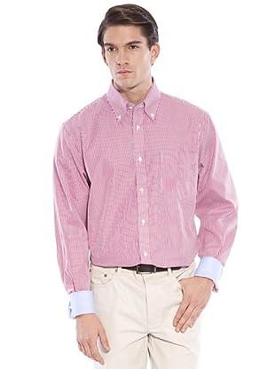 Hackett Camisa Rayas (Burdeos / Blanco)
