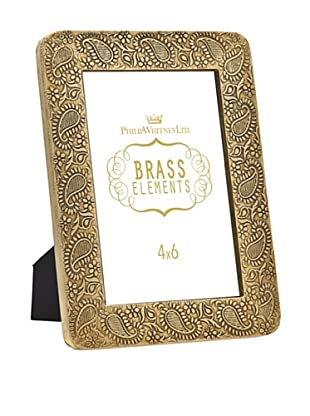 Philip Whitney Brass Paisley 4
