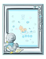 Silver Touch USA Sterling Silver Picture Frame and Booklet Set, Baby Boy (Discontinued by Manufacturer)