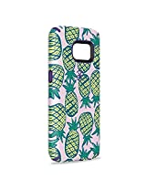 Speck Products Samsung Galaxy S7 Case, CandyShell Inked Case (Pineapple Pac/Knight Purple), Protective Case