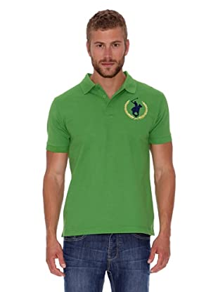 Polo Club Polo Custom Fit Logo Big (Verde)