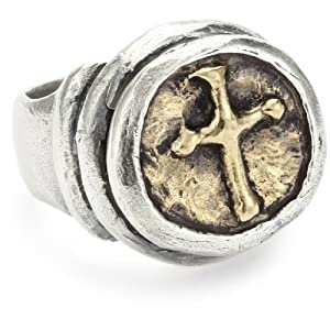 "Waxing Poetic ""Hero' Cross"" Ring"