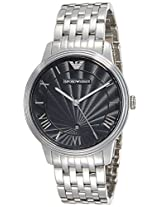 Emporio Armani Analog Black Dial Men's Watch - AR1614