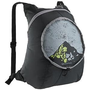 Quechua ARPENAZ 15 Light Backpacks-Black