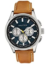 Nautica Chronograph Brown Dial Men's Watch  - NTA16695G