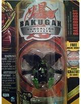 Bakugan Gundalian Invaders Bakuexo Skin Darkus Black Rubanoid 750g [New, In Package]